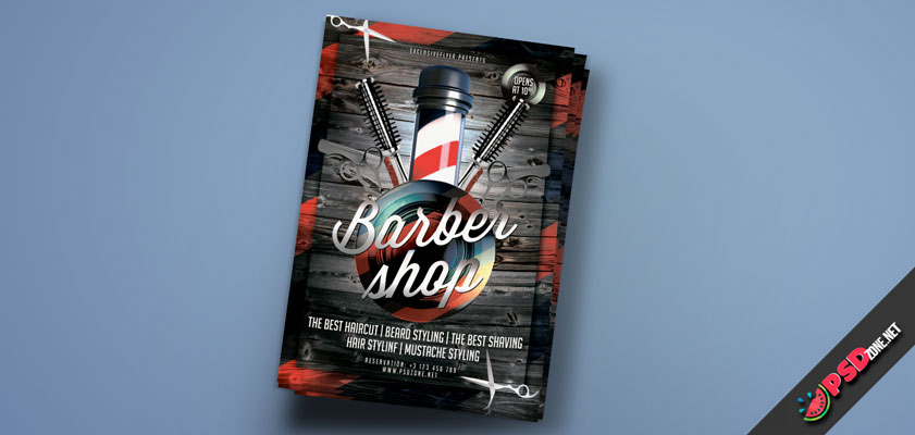 Barbershop Template free