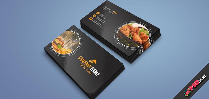 Chicken KFC Business Card