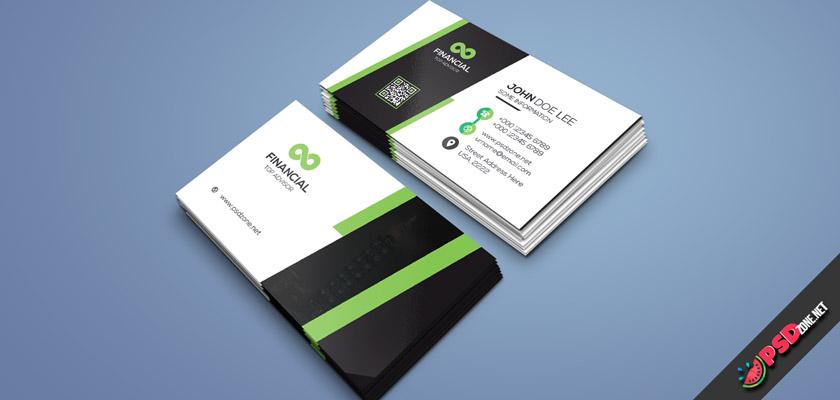 Finance Advisor Business Card