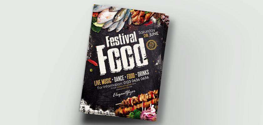 Food Festival Unique Design