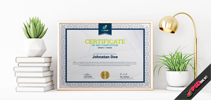 Download free certificate