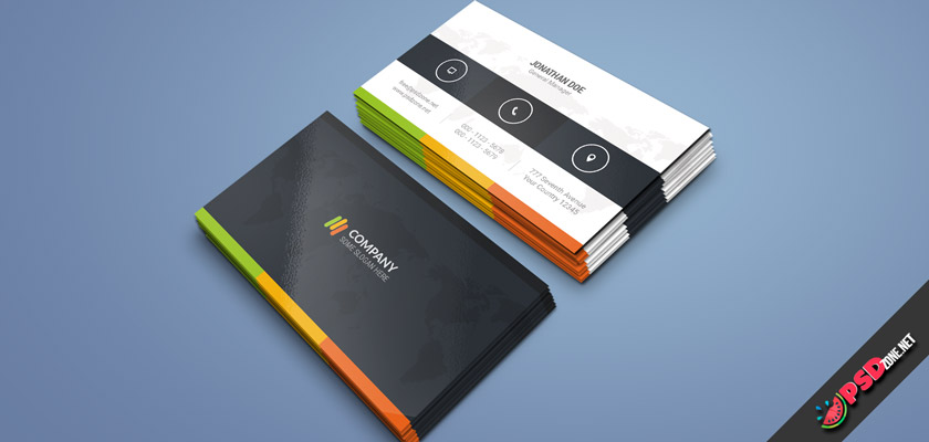 Colorful super Business Card free