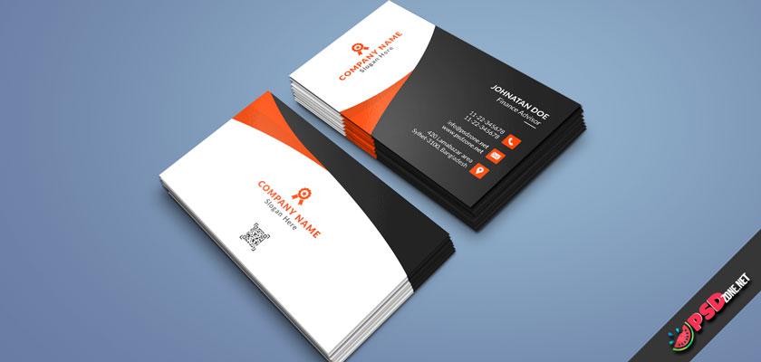Simple design business card