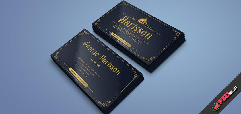 Liquor business card free