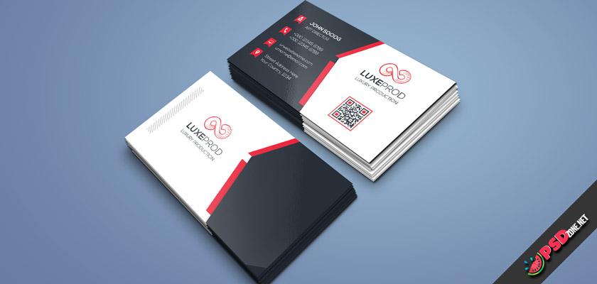 art business card psd