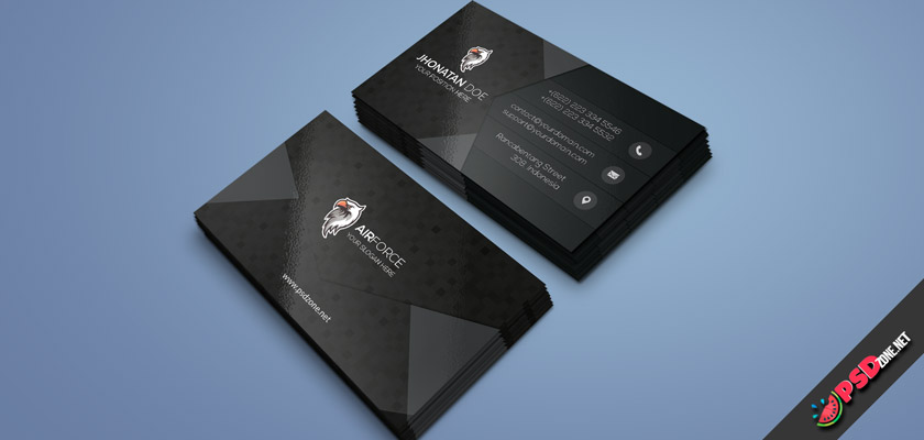 Government Agency business card
