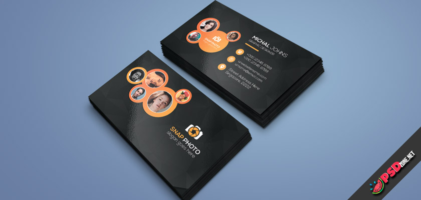 photographer business card free