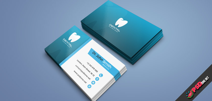 Dentist business card free