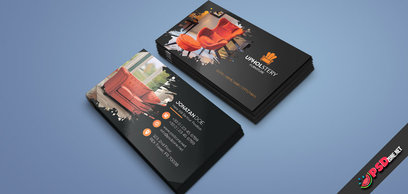 Furniture Upholstery Business Cards