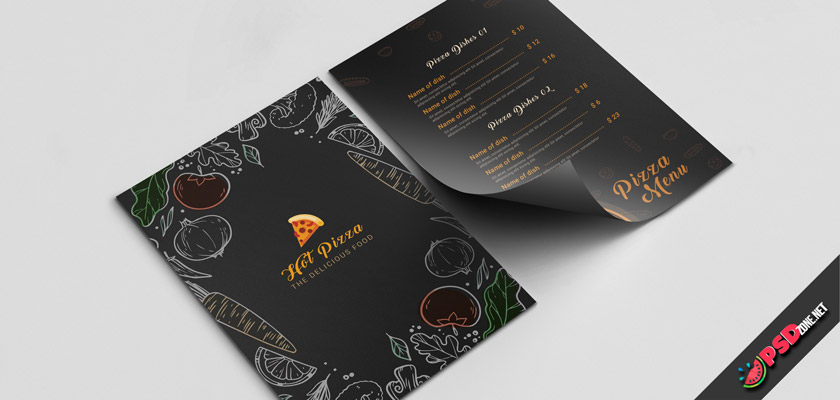 pizza restaurant menu free