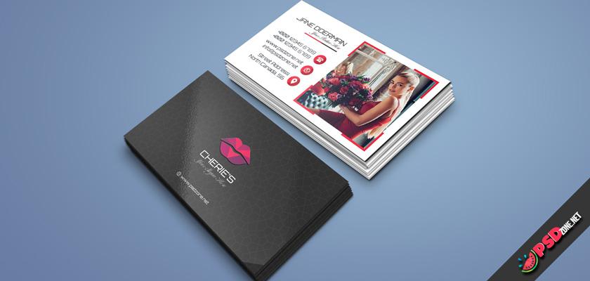 Cosmetics business card free