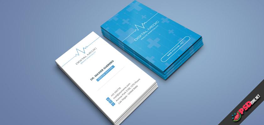medical business card online