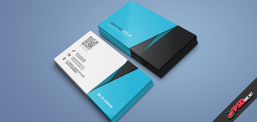 Notary service business card