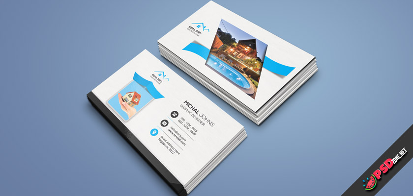 rental house business card