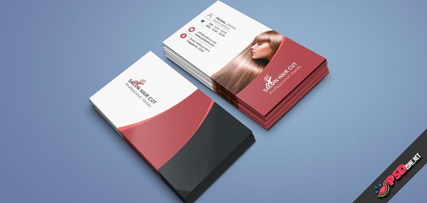 women's Haircuts business card