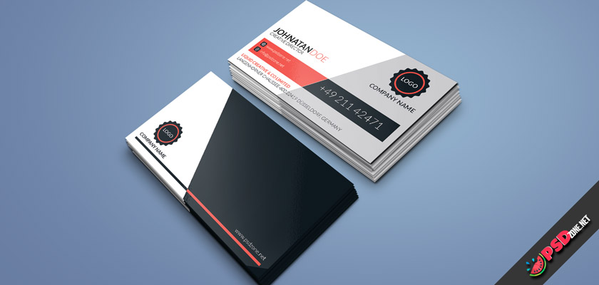 Classic business cards modern