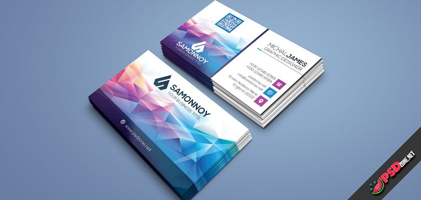 colorful business cards free