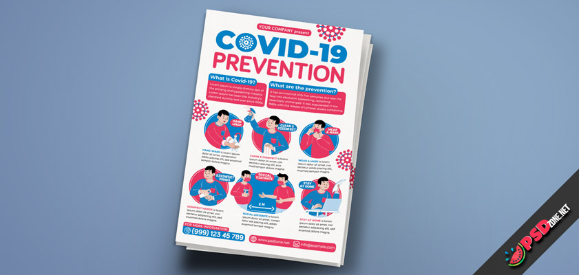 Covid-19 Prevention Flyers