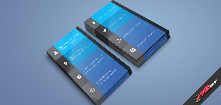 Social business card free