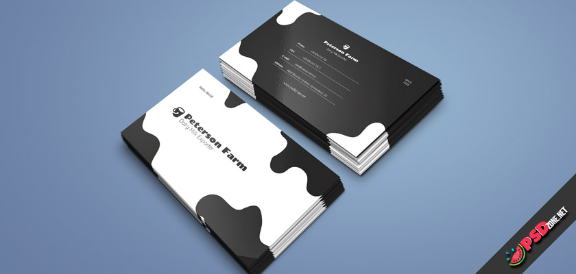 Dairy Farm Business Card