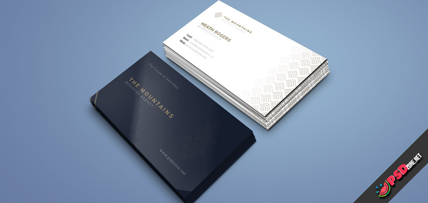 business agency business card