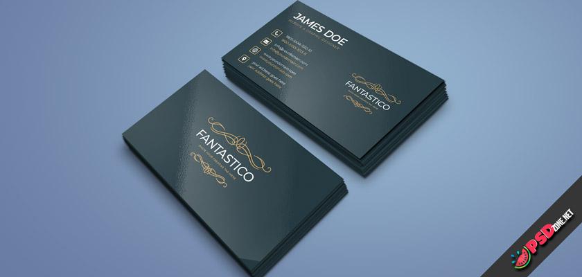Fantastic minimal business card