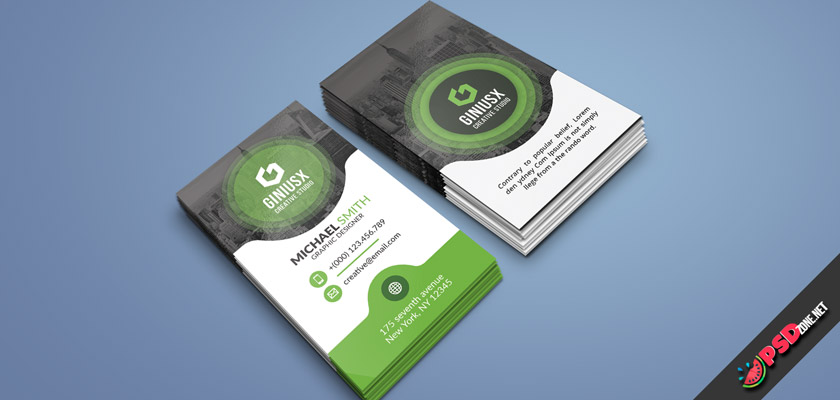 modern corporate business cards free