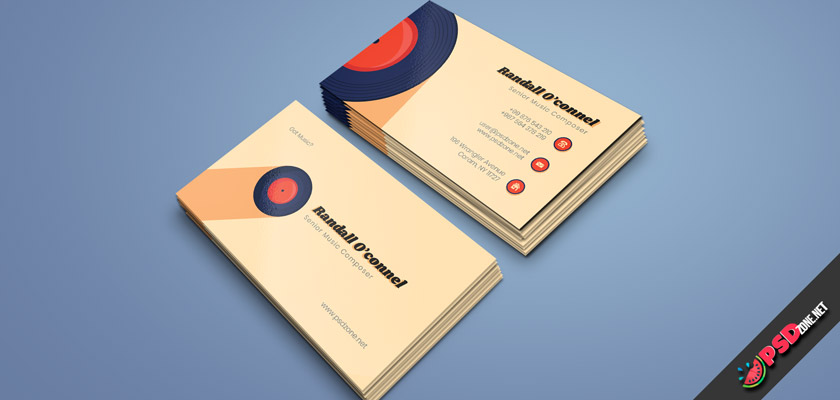 Music Composer Business Cards