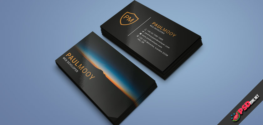 personal business cards free