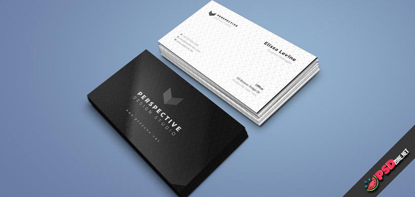 design studio simple business cards