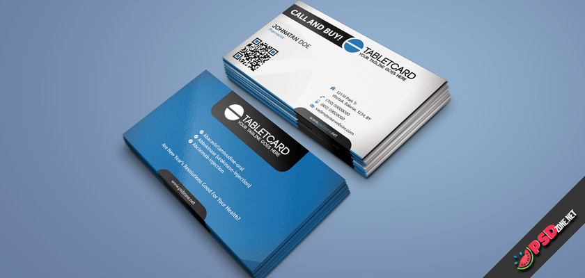 Pharma business cards