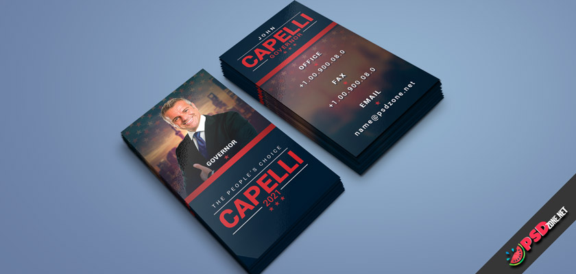 political business cards free