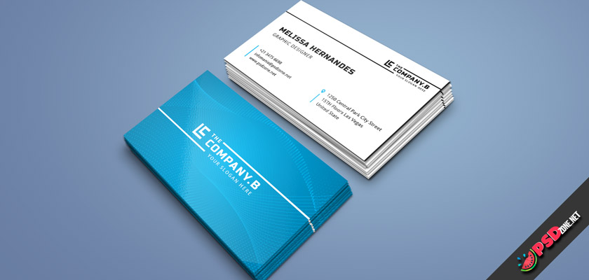 Professional classic business cards