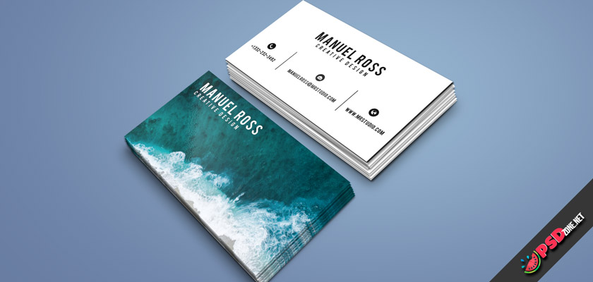 Professional creative business cards
