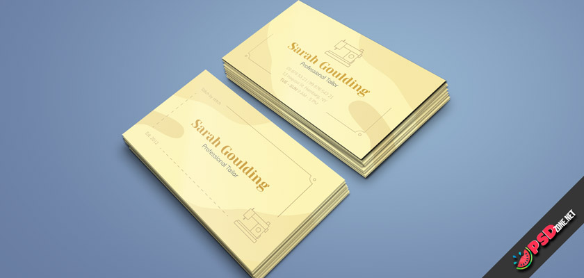clothier business card free