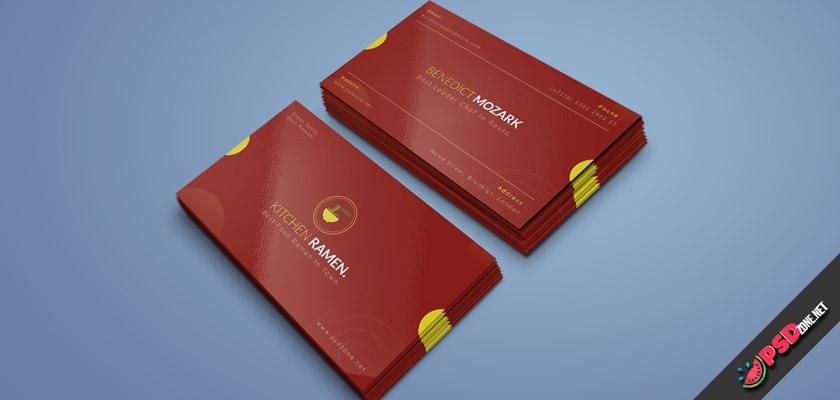 Ramen House business cards