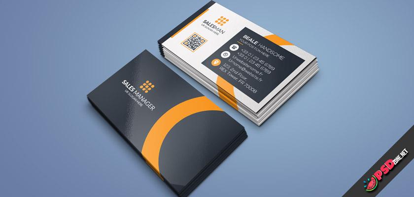Sales Manager visiting card online