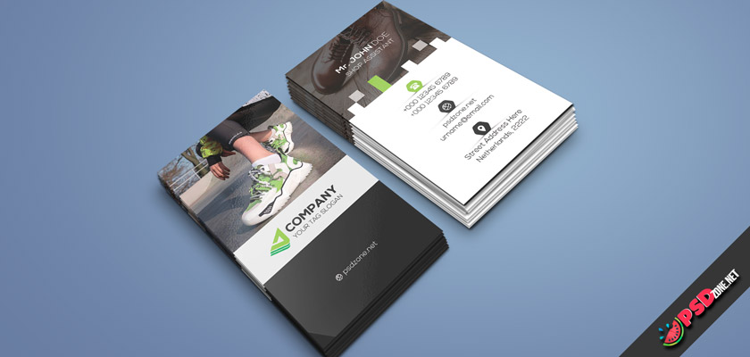 Shoe Store Business Card