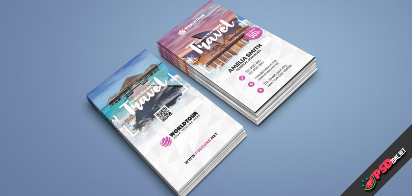 travel agent free business card