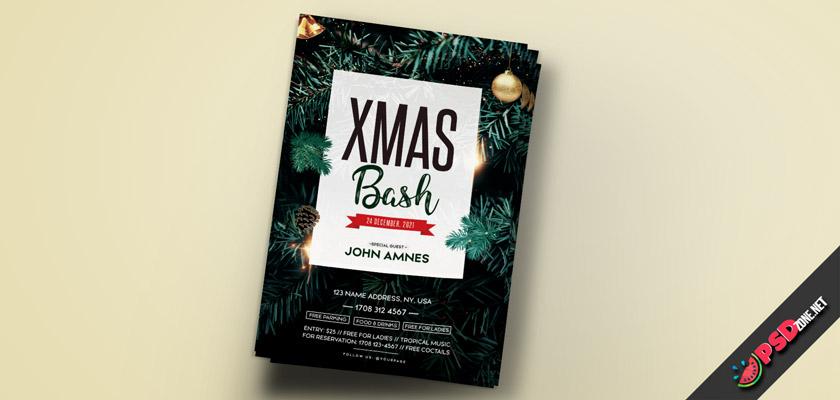 Christmas bash Flyer free