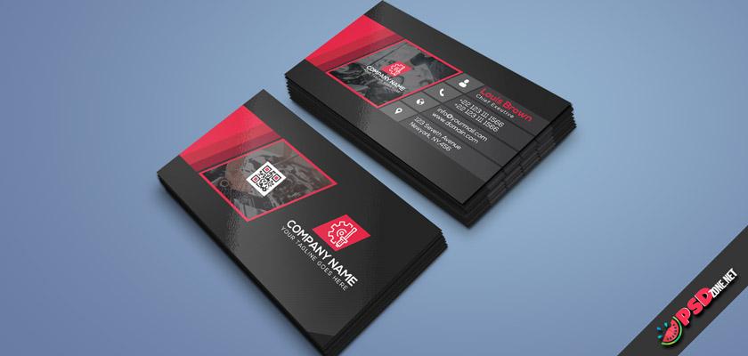 Auto mechanic business card