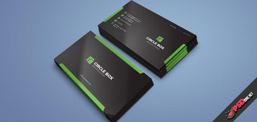 circle box business card free