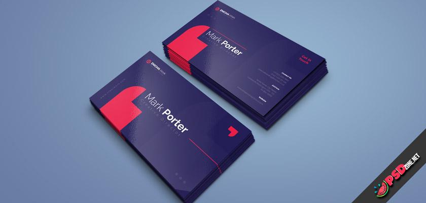 creat work design visit card