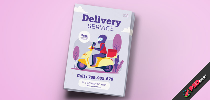 Delivery flyer free