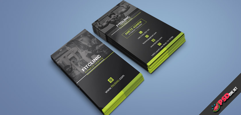 Fitness & GYM business card
