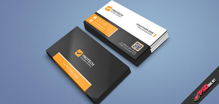 minimal simple business card