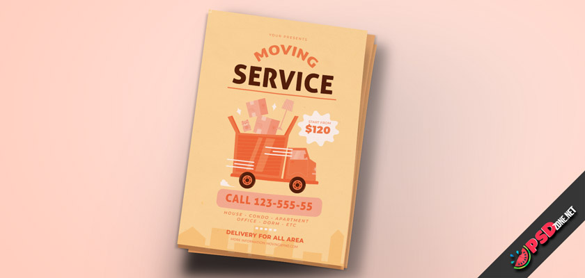 Moving Company Flyer Free