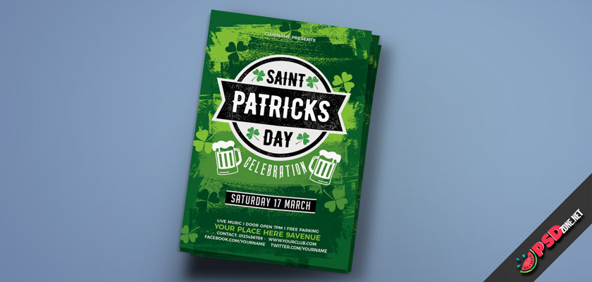 St.Patrick's Day Flyer free