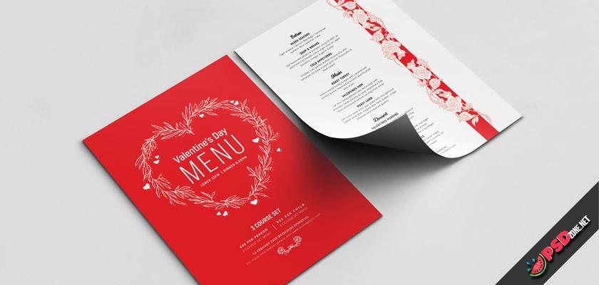 valentine's day food menu