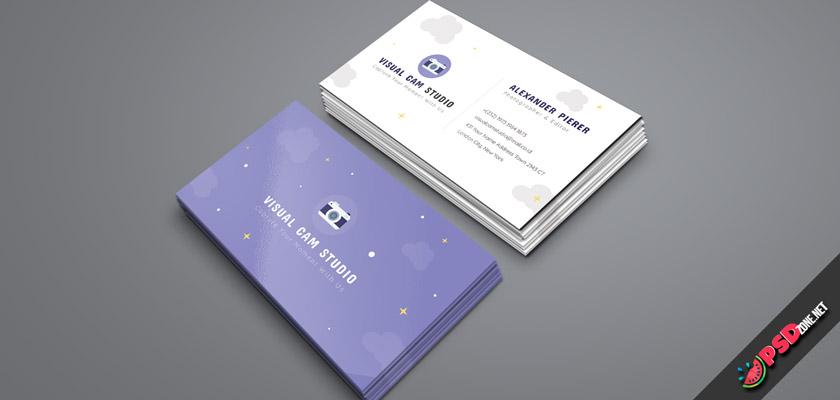 camera studio business card